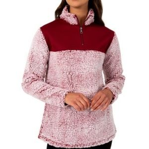Athletic Works Sherpa Plush Pullover Sweatshirt